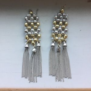 Gorgeous Lucky Brand chandelier earrings
